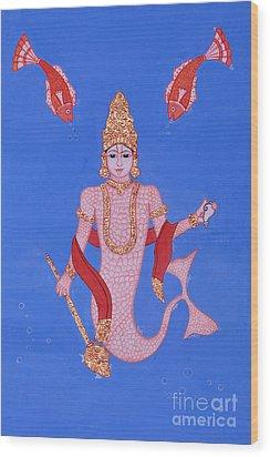 Matsyamurti Wood Print