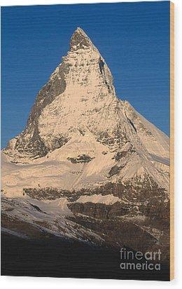 Matterhorn Wood Print by Art Wolfe