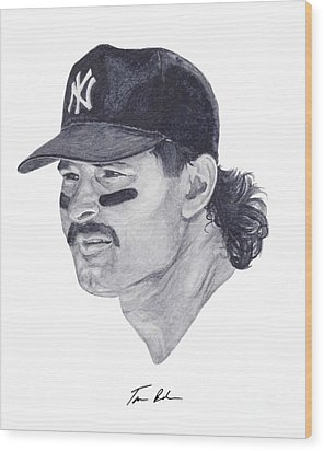Mattingly Wood Print