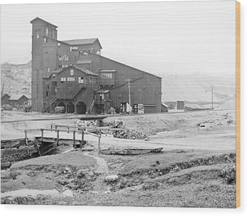 Mauch Chunk Now Jim Thorpe Pennsylvania Coal Mine 1902 Vinta Wood Print