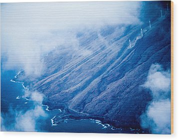 Wood Print featuring the photograph Maui by Cathy Donohoue