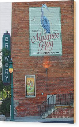 Maumee Bay Brewing Company 2135 Wood Print