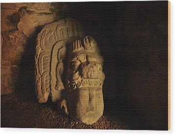 Mayan Tomb Wood Print