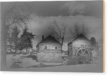 Mccormick Farm 2 Wood Print by Todd Hostetter