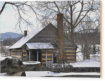 Mccormick Farm 5 Wood Print by Todd Hostetter