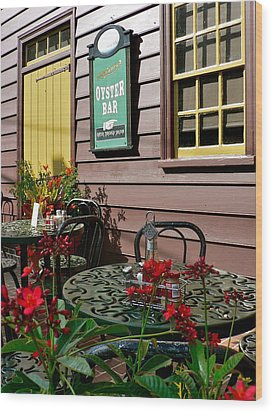 Mcgarvey's Saloon And Oyster Bar Wood Print