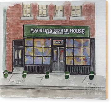 Mcsorley's Old Ale House Wood Print
