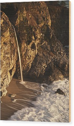 Wood Print featuring the photograph Mcway Falls 3 by Lee Kirchhevel