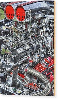 Mechanics Wood Print by Bill Wakeley