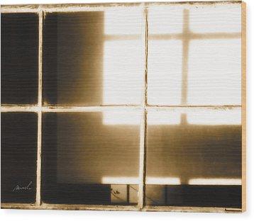 Meditation In Sunlight 14 Wood Print by The Art of Marsha Charlebois