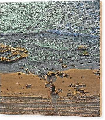 Wood Print featuring the photograph Meditation by Ron Shoshani