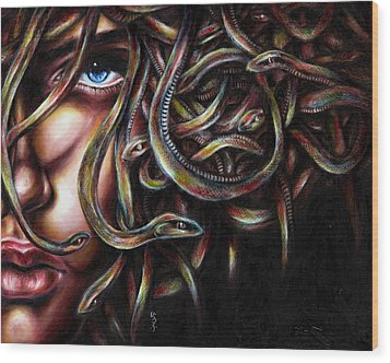 Medusa No. Two Wood Print