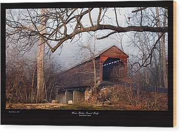 Meems Bottom Bridge 7 Wood Print
