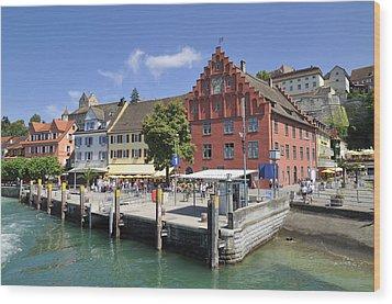Meersburg Lake Constance Germany Wood Print by Matthias Hauser