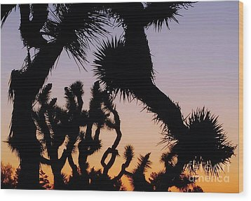 Wood Print featuring the photograph Meet And Greet by Angela J Wright