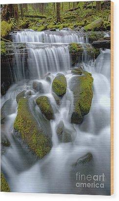 Megaflow Wood Print