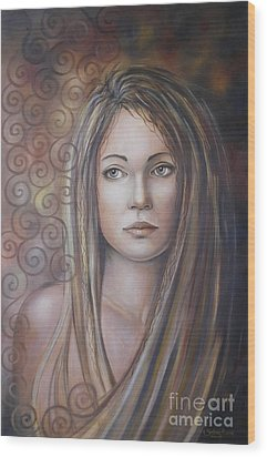 Melancholy 080808 Wood Print