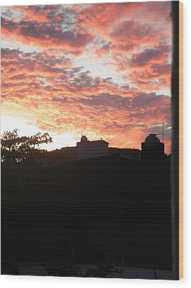 Wood Print featuring the photograph Melaque Sunset by Brian Boyle