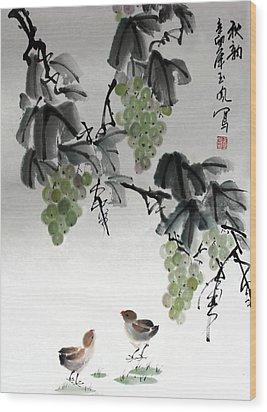 Melody Of Life Wood Print