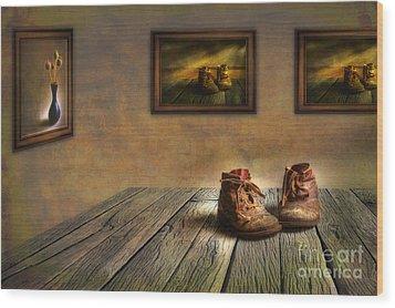 Mementos Exhibition Wood Print by Veikko Suikkanen