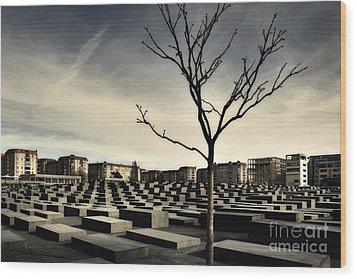 Memorial Landscape Wood Print by Michel Verhoef