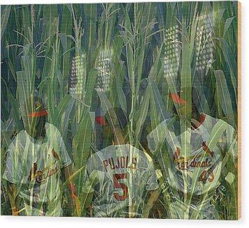 Wood Print featuring the digital art Memories by John Freidenberg