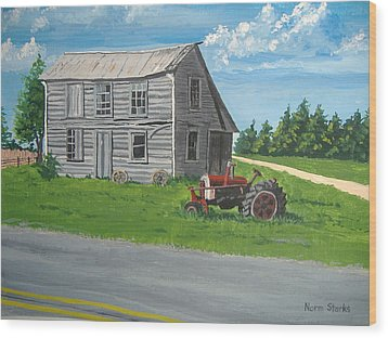 Memories... Wood Print by Norm Starks