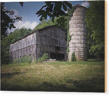 Memories Of Peak's Mill Wood Print by Wayne Stacy