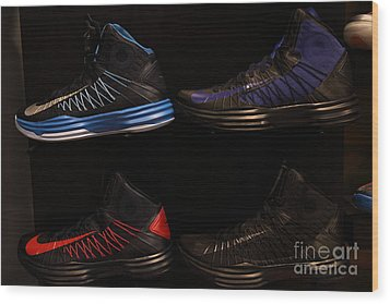 Men's Sports Shoes - 5d20654 Wood Print by Wingsdomain Art and Photography