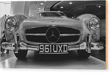 Wood Print featuring the photograph Mercedes Benz 300sl by Stephen Taylor