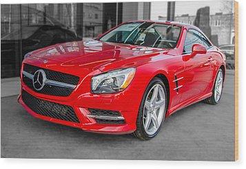 Mercedes Sl550   7d01718 Wood Print