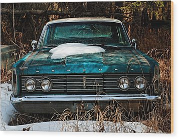 Wood Print featuring the photograph Mercury Blues by Trever Miller