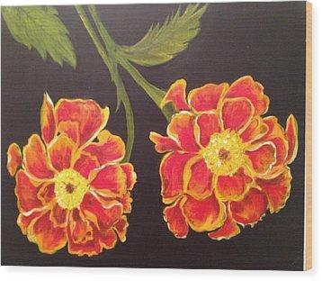 Merrigolds Wood Print