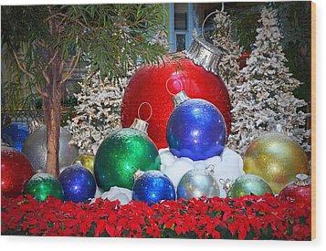 Merry Merry Christmas........ Wood Print by Tanya Tanski