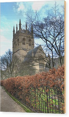 Merton College Chapel Wood Print