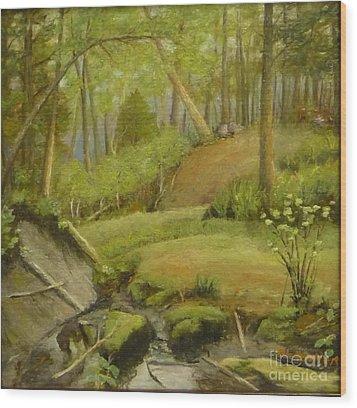 Merville Bc  Wood Print