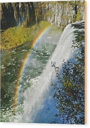Mesa Falls Wood Print