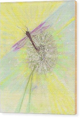 Mesmerism Wood Print by Desline Vitto