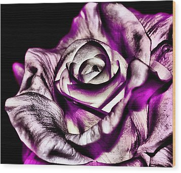 Mesmerizing Rose Wood Print