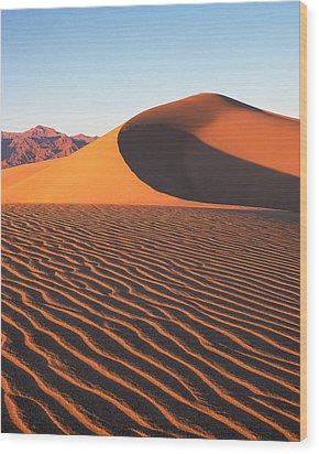 Mesquite Dunes 1-v Wood Print
