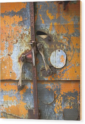 Metal II Wood Print by Ann Powell