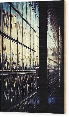 Metallic Reflections Wood Print by Melanie Lankford Photography