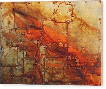 Metalwood Wood Print