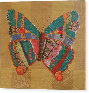 Metamorphosis Wood Print by Aisha Lumumba