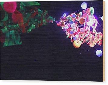 Metamorphosis Wood Print by Nina Efk
