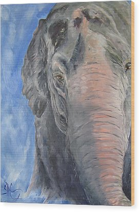 The Elder, Methai An Elephant Wood Print