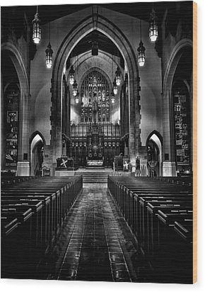 Metropolitan United Church 1 Toronto Canada Wood Print by Brian Carson