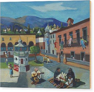 Mexican Memories Of San Miguel Wood Print