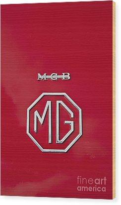 Mg Badge 1 Wood Print