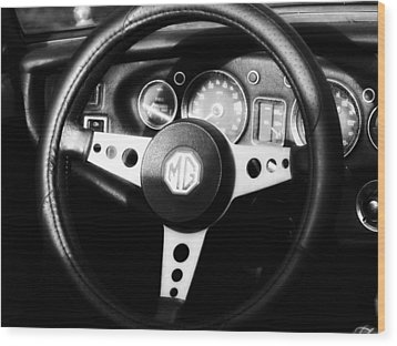 Mg Dashboard Wood Print